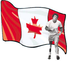 terry fox my hero canadian hero terry fox running flag