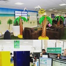 decorated office. Office Decorated For The Trip To Miami Incentive! - LHi Group