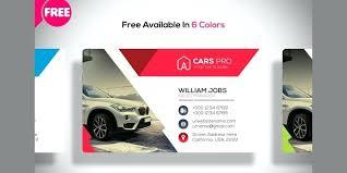 Auto Repair Service Business Card Template Car Dealer Useful