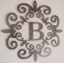 wood monogram wall letters b large metal letters for wall decor decorating large metal