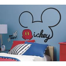 Mickey Mouse Bedroom Furniture Mickey Mouse Ears Wall Decal My Children Mickey Mouse Ears And