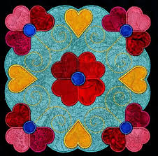 531 best Appliqué-Contemporary images on Pinterest | Beautiful ... & affairs of the heart quilt pattern | Affairs of the Heart Applique Quilt Kit Adamdwight.com