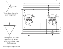 center tapped delta 240v 3 phase transformer connections 480 To 120 Transformer Diagram click image for larger version name 240v3popendelta jpg views 13993 size 480 to 120 volt transformer wiring diagram