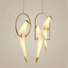 <b>Nordic Postmodern Creative</b> Personality Birdie Bedroom Chandelier ...