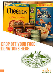 Food Drive Posters Food And Fund Drives Second Harvest North Central Food Bank