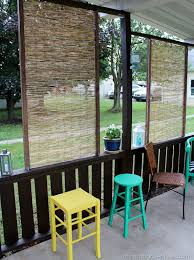 diy bamboo privacy screen christina