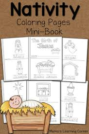 best ideas about cover pages page design web a 14 page set of nativity coloring pages includes a cover page and