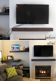 Super easy how to hide those ugly tv cords. Full tutorial with supply list  included