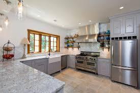 sink kitchen gray stained kitchen cabinets and wood window trim backsplash kitchen marble floating shelf wood