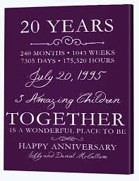 amusing 20th anniversary gift ideas th wedding gifts picture collection 20th