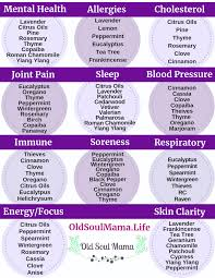 Essential Oils Uses Chart Young Living Pin On Oils
