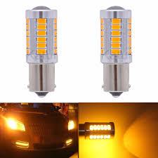 <b>2Pcs</b> 1156 <b>BA15S</b> P21W <b>33SMD</b> Led Car Lights 1157 <b>BAY15D</b> P21 ...