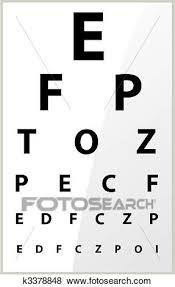 Eye Chart Clip Art - Best Graphic Sharing •