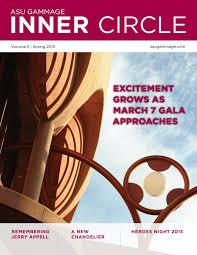 Phenomenal Designs By Lamar Website Asu Gammage Inner Circle Magazine Volume 5 By Asu Gammage