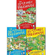 Andy Griffiths Treehouse Collection 7 Books Set The 65Storey The 26 Storey Treehouse