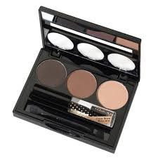 eyebrow brushes kit. collection eyebrow kit blonde. ✕ brushes