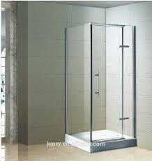 semi frameless rectangular pivot shower door fit 32 34 in width 3
