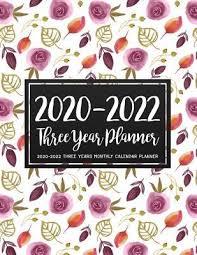 Teacher Organizer Planner 2020 2022 Three Year Planner Vilma P Christiansen