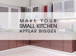 Kitchen Design India Beauteous Make Your Small Kitchen Appear Bigger Luxus India
