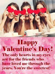 happy valentine s day friends. Delighful Valentine Happy Valentineu0027s Day Card For Friends Throughout Valentine S I