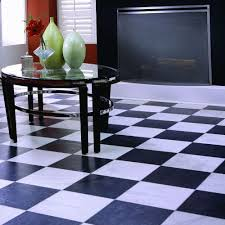 innovations black and white chess slate 8 mm thick x 11 home neat and laminate flooring
