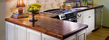 vintage kitchen with distressed walnut butcher block countertop white wooden kitchen cabinets ideas and