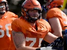 Syracuse Football Center Sam Heckel Questionable For