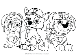 Coloring Pages Chase Paw Patrol Coloring Pages Birthday Printable