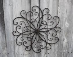 Small Picture Peachy Design Ideas Large Wrought Iron Wall Decor Brilliant Metal