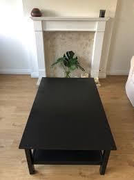 ikea hemnes coffee table black brown