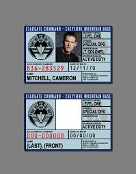 Stargate Id Badge Silentarmageddon By Deviantart Command On