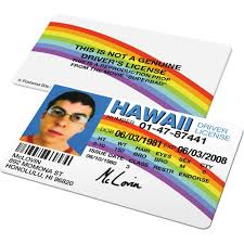Custom Drivers Superbad And Id Badges usa From - License Famous – Mclovin Hawaii Ids Card Cards