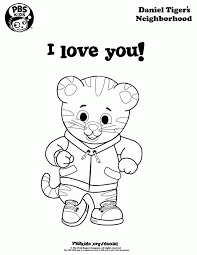 Stunning Design Daniel Tiger Coloring Sheet Pages Movies And Tv Show