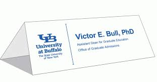 table tent cards ideny and brand university at buffalo with regard to tent card template
