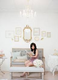 vintage shabby chic inspired office. Parisienne Inspired Office Tour Vintage Shabby Chic