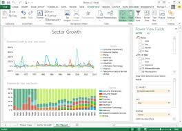 Microsoft Ships Powerbi For Excel Bringing More Live Data