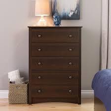 tall dresser chest. Amazon.com: Prepac Fremont 5 Drawer Chest, Espresso Brown: Kitchen \u0026 Dining Tall Dresser Chest R