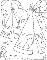 Native Americans Free Printable Coloring Pages Coloringpagesfun