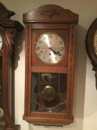 decorative arts antique wall clock