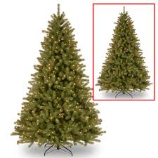 Artificial Christmas Tree With C9 Lights Lakewood 7 5 Green Spruce Artificial Christmas Tree With