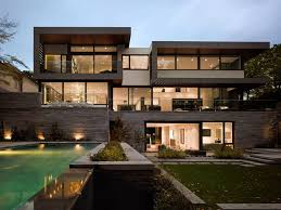 Home Garden Design Adorable Awarded Contemporary Home With Beautiful Garden In Toronto Canada