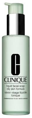 Clinique <b>сильнодействующее жидкое мыло</b> для лица для жирной ...