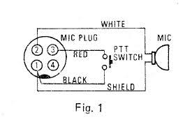 ptt microphone wiring ptt image wiring diagram i recently purchased a used yaesu ft 227r radio on line it on ptt microphone wiring