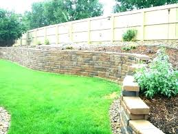 cement retaining wall ideas cement retaining wall ideas