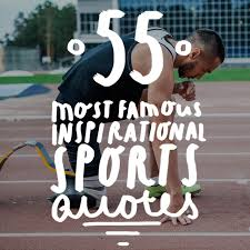 Famous Athlete Quotes Impressive 48 Most Famous Inspirational Sports Quotes Of AllTime