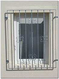 Vergitterung Fenster Fenstergitter Hause Gestaltung Ideen