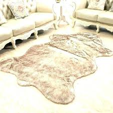 faux sheepskin rugs rug fur area s home canada faux sheepskin rugs