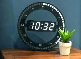 cool digital wall clocks digital wall clock cool digital wall clocks circular large led digital wall clock digital wall clock big digital wall clock with