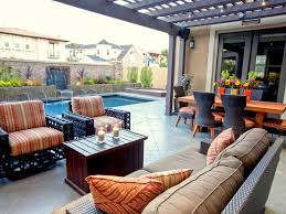 eclectic outdoor furniture. Brilliant Eclectic This Eclectic Outdoor Space Is Perfect For Relaxing And Entertaining With  Modern Furniture A Custom Pool Waterfall Throughout Eclectic Outdoor Furniture S