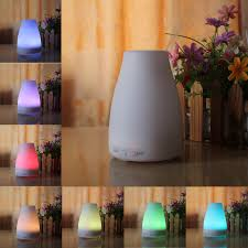 essential oil diffuser 200ml aromatherapy humidifier cool mist ultrasonic aroma with 7 color romantic warm lights cha